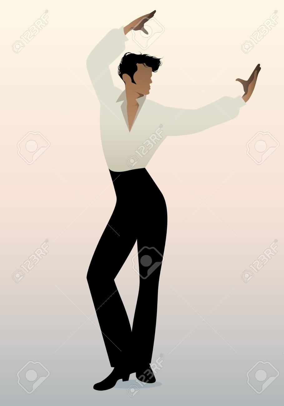 Spanish Flamenco Dancer Man. Vector Illustration Royalty Free Cliparts,  Vectors, And Stock Illustration. Image 86424228.