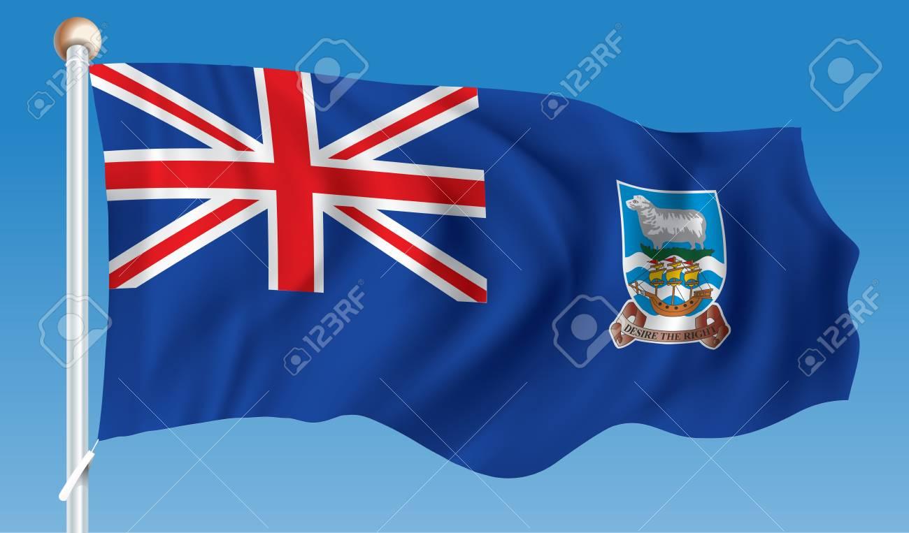図 - フォークランド諸島の旗 ロ...