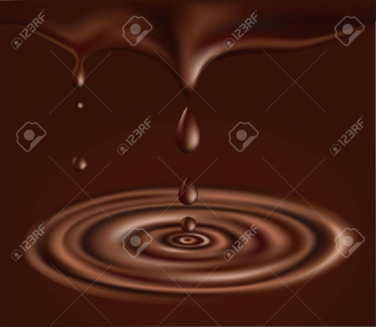 4,760 Chocolate Drop Stock Vector Illustration And Royalty Free ...