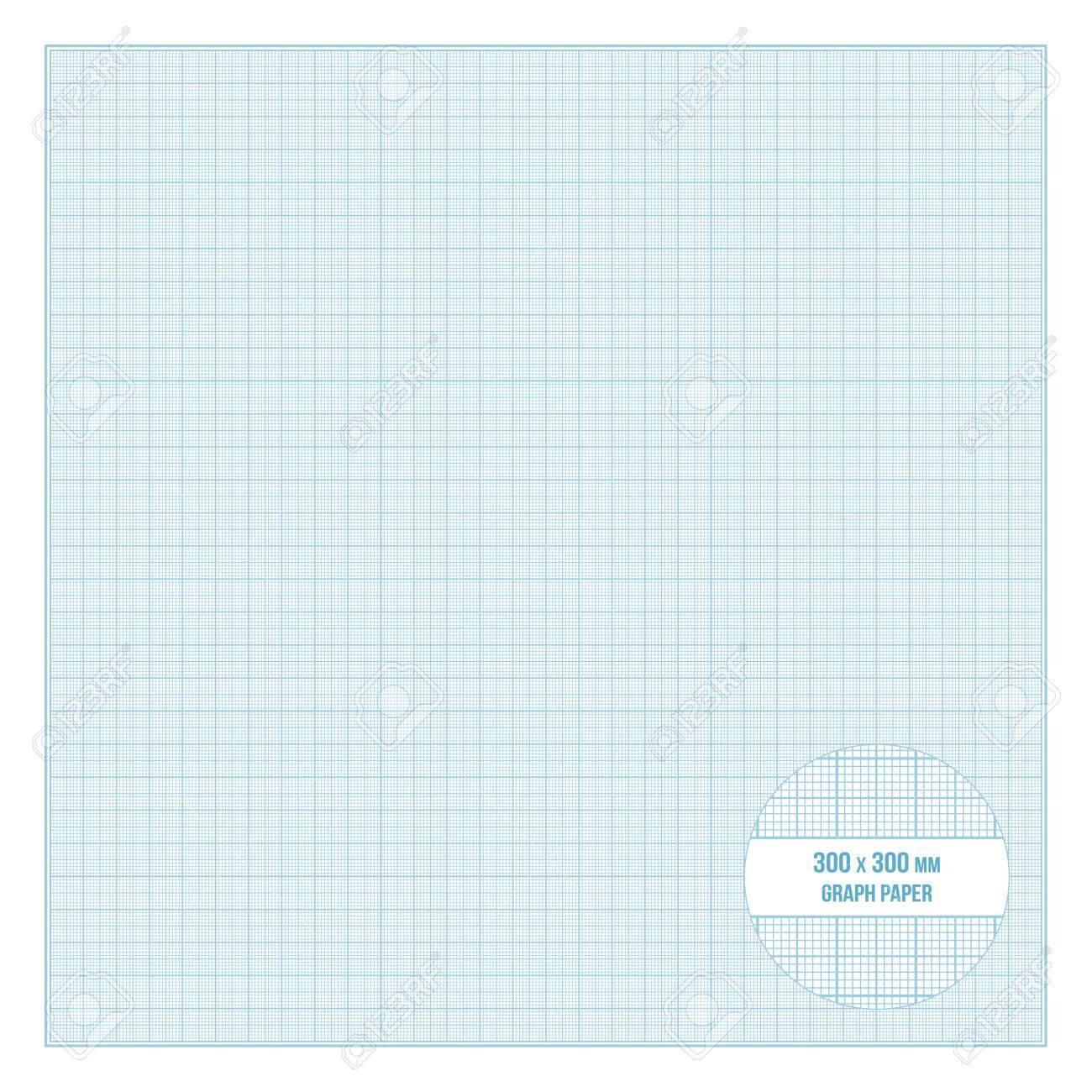 Papier Quadrille Metrique Imprimable Vector Bleu Taille 30x30 Cm