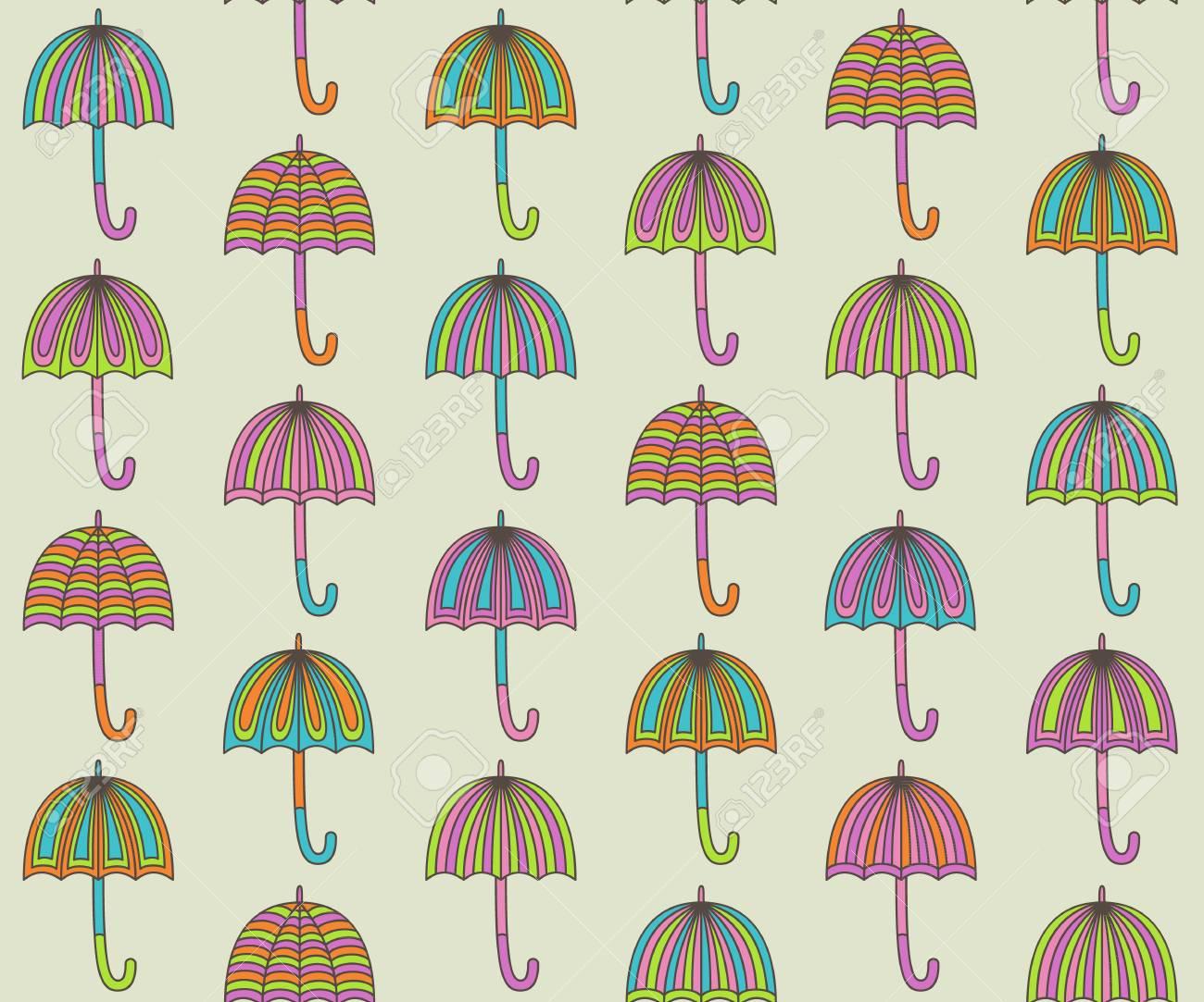 parapluie color seamless banque dimages 24213882 - Parapluie Color