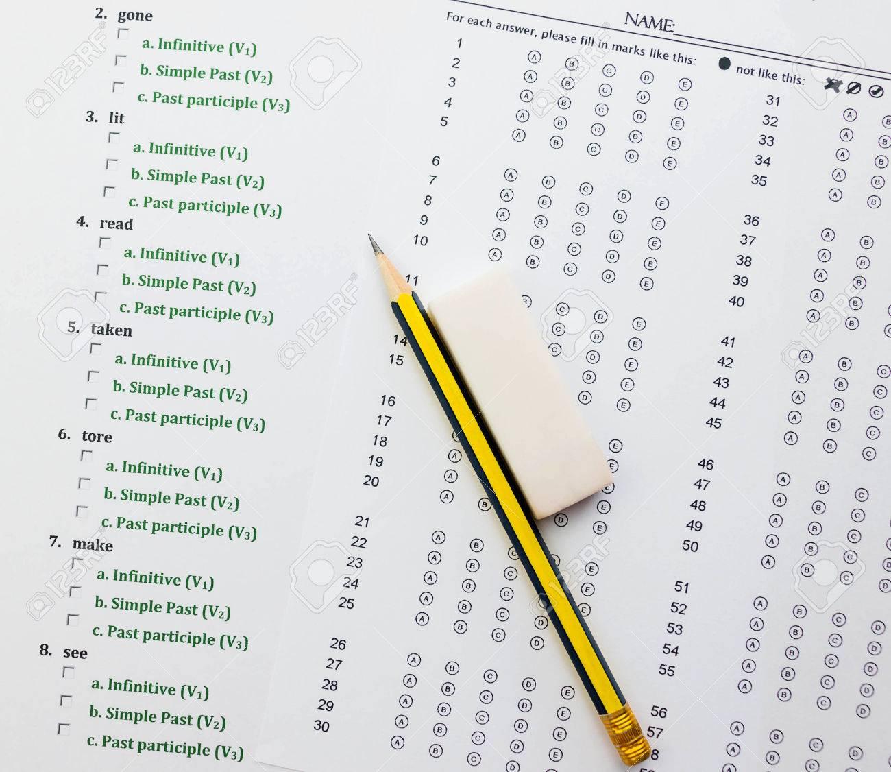 Englisch Übung Und Antwortbogen Darstellen Prüfung Englisch ...