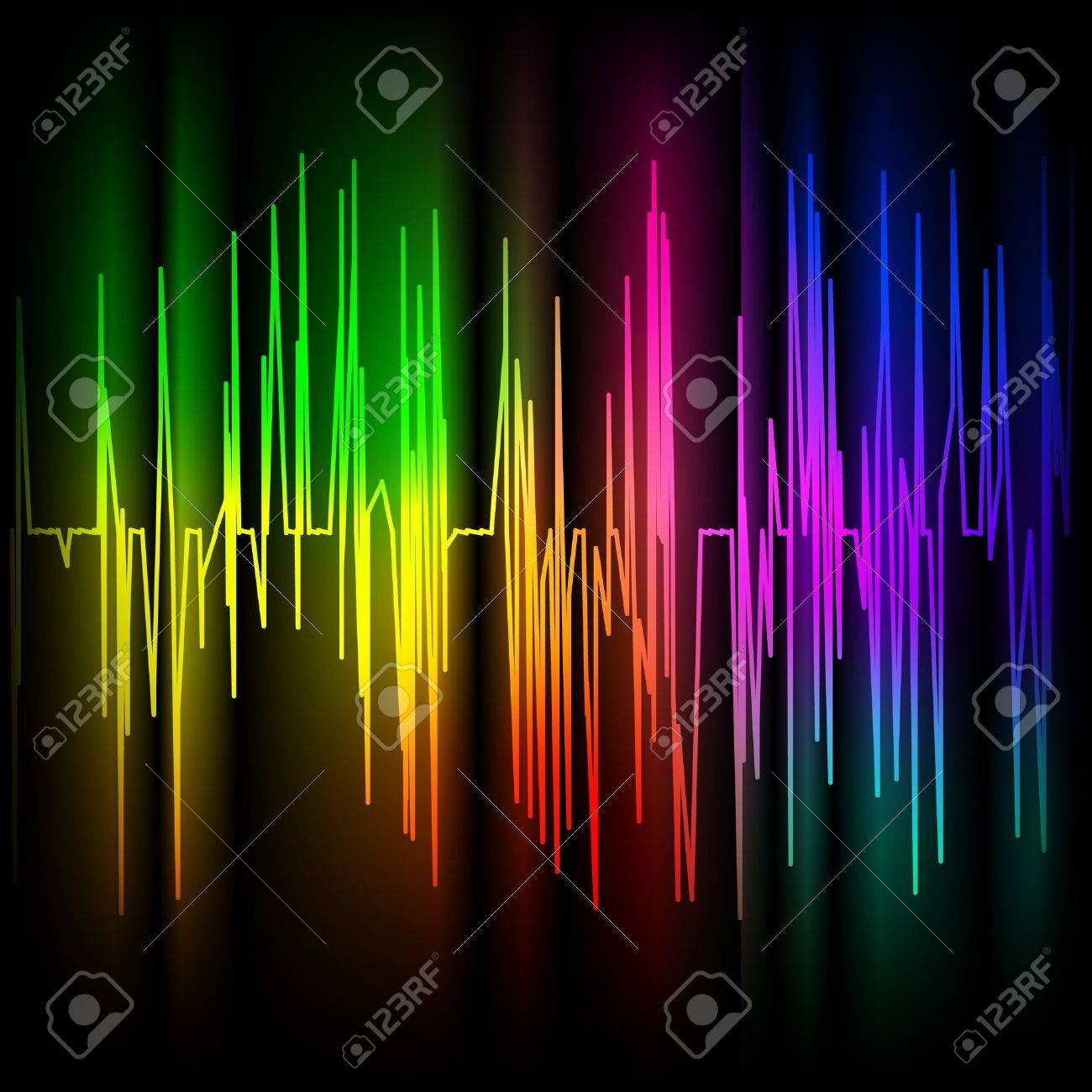 Abstract multicolored background. Stock Vector - 8744594