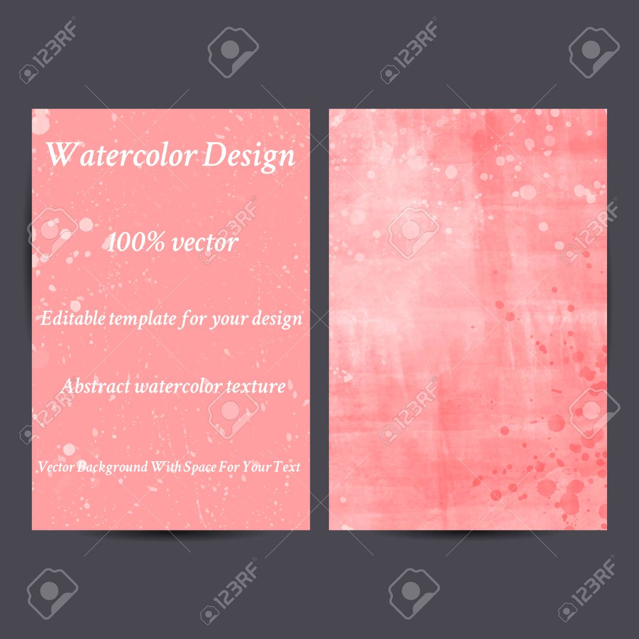 Corporate identity watercolor templatesvitation cardsctor corporate identity watercolor templatesvitation cardsctor colorful abstract background for your stopboris Gallery