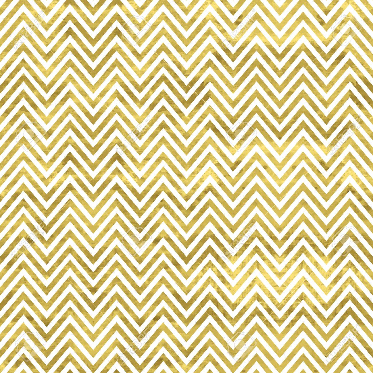 White And Gold Pattern Abstract Geometric Modern Background