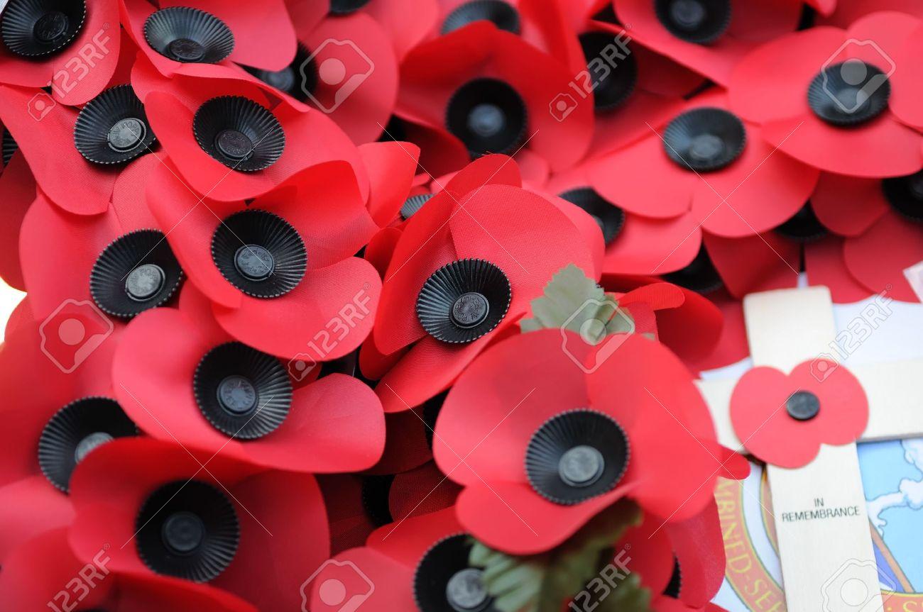 Lidée De Coquelicots Remonte Au Poème In Flanders Fields Au Sujet De La Première Guerre Mondiale Après Quoi La Légion Britannique A été Fondée Les