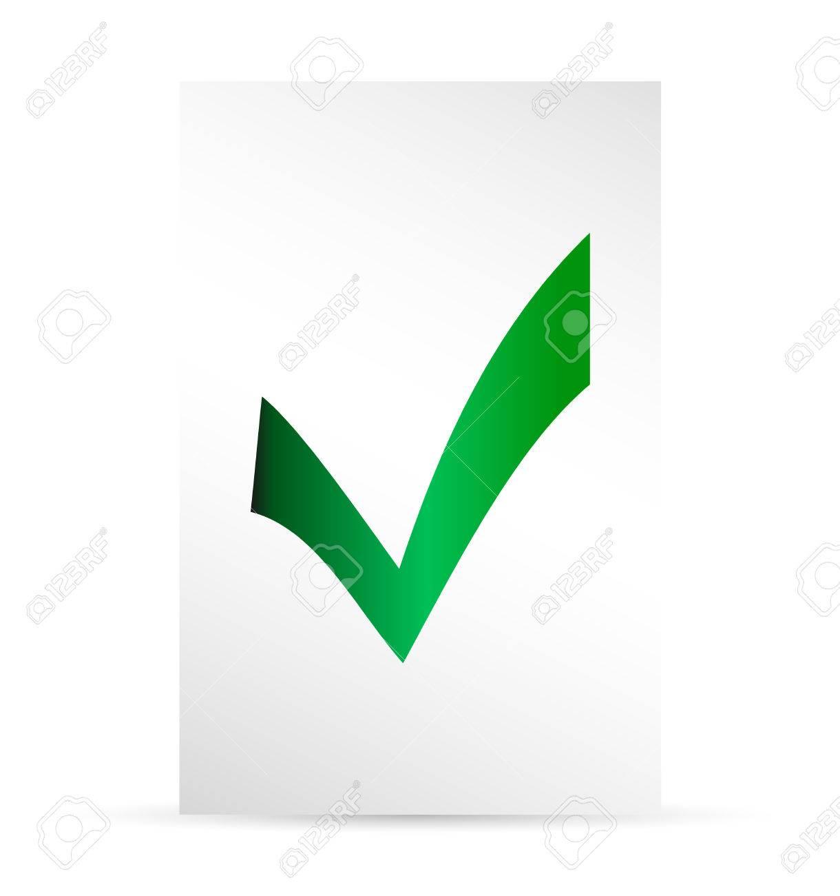 Papeleta De Votación Plantilla. Elecciones Iconos. Marcas De ...