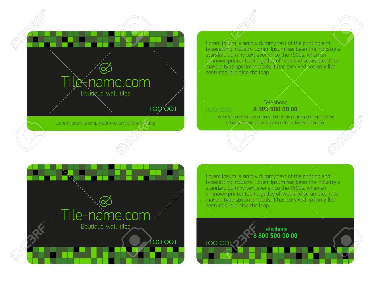 Green Loyalty Card Design Template Beautiful Gift Cards Business