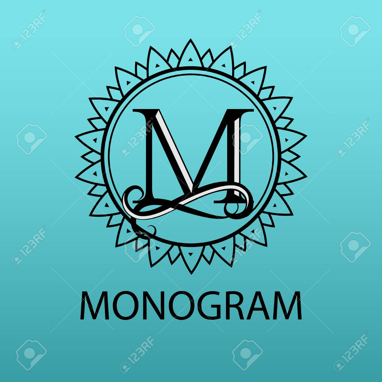 Design Modern Logotype For Business Vector Logo Letter M Monogram