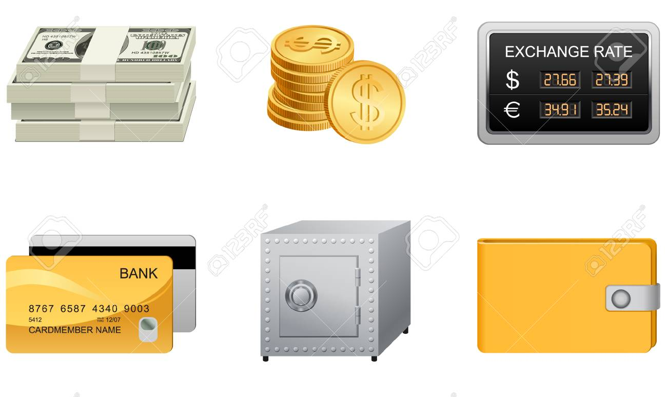 Vector icons for your website, application, or presentation. Stock Vector - 4003590