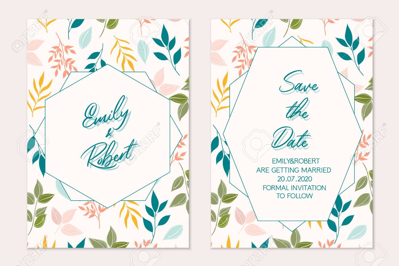 Wedding Invitation Template Card Invitation Templates Royalty Free Cliparts Vectors And Stock Illustration Image 137268163