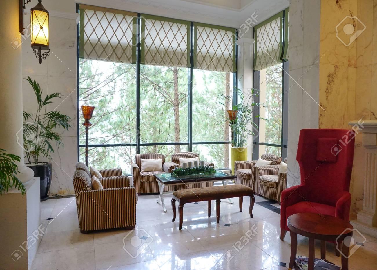 Dalat, Vietnam   Nov 30, 2014. Western Style Living Room In The