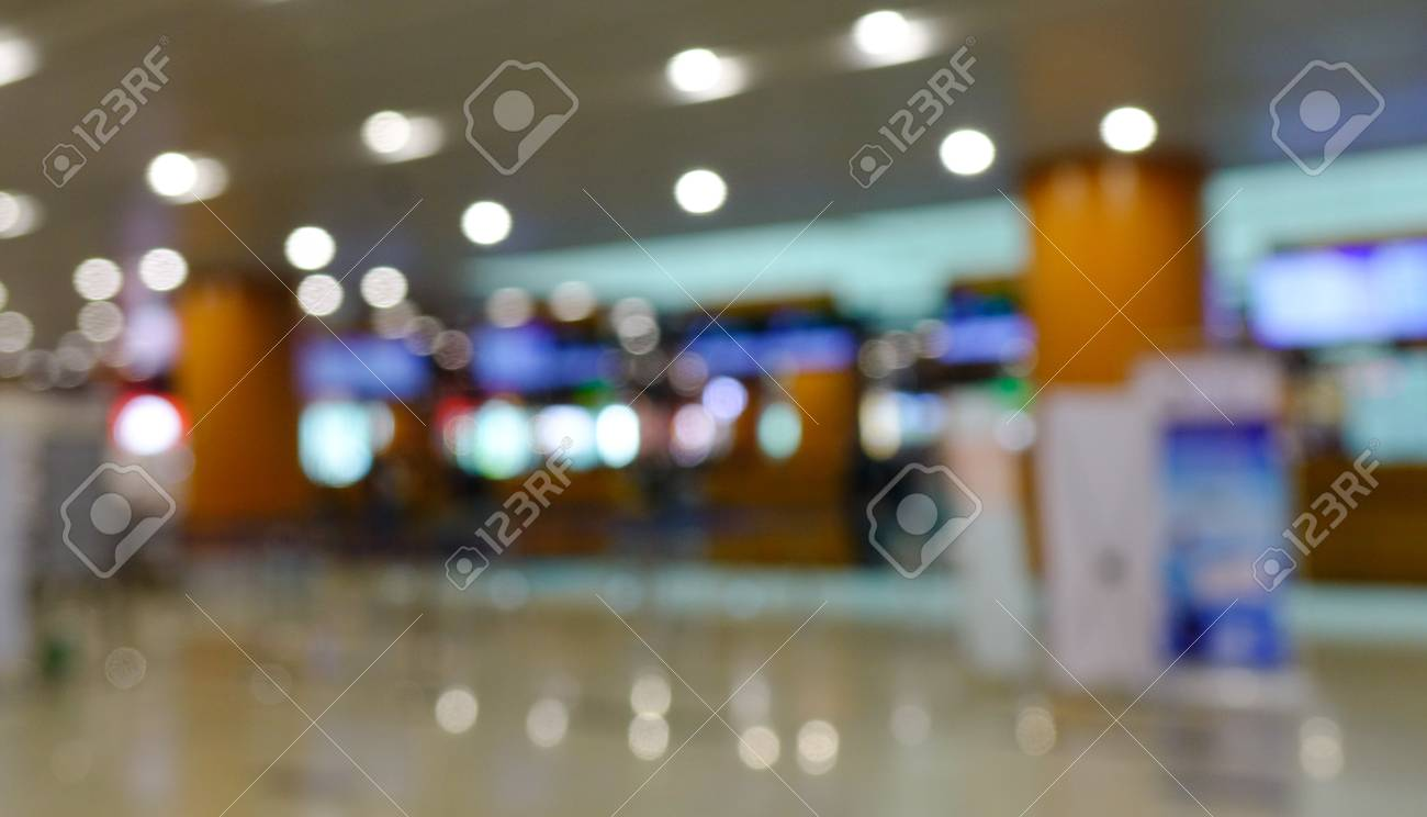 Blurred Of Departure Terminal Of Yangon International Airport Stock Photo Picture And Royalty Free Image Image 73559806