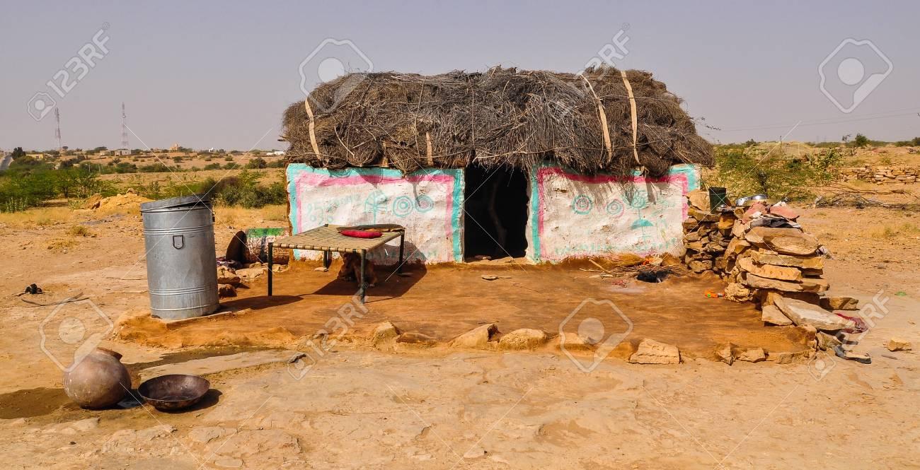 Excellent A Poor House On Desert In Jaisalmer India Jaisalmer The Golden Interior Design Ideas Apansoteloinfo