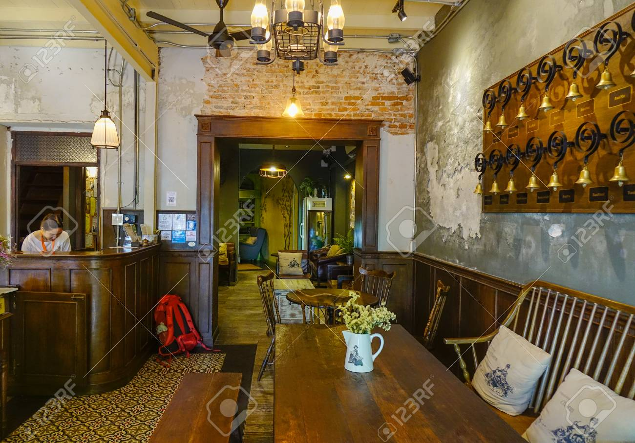 Bangkok Thailand Apr 22 2018 Interior Of Vintage Restaurant Stock Photo Picture And Royalty Free Image Image 104133619