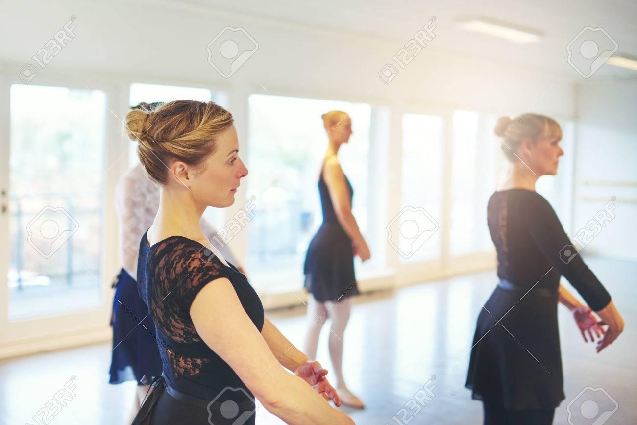 Mature amateur dancers