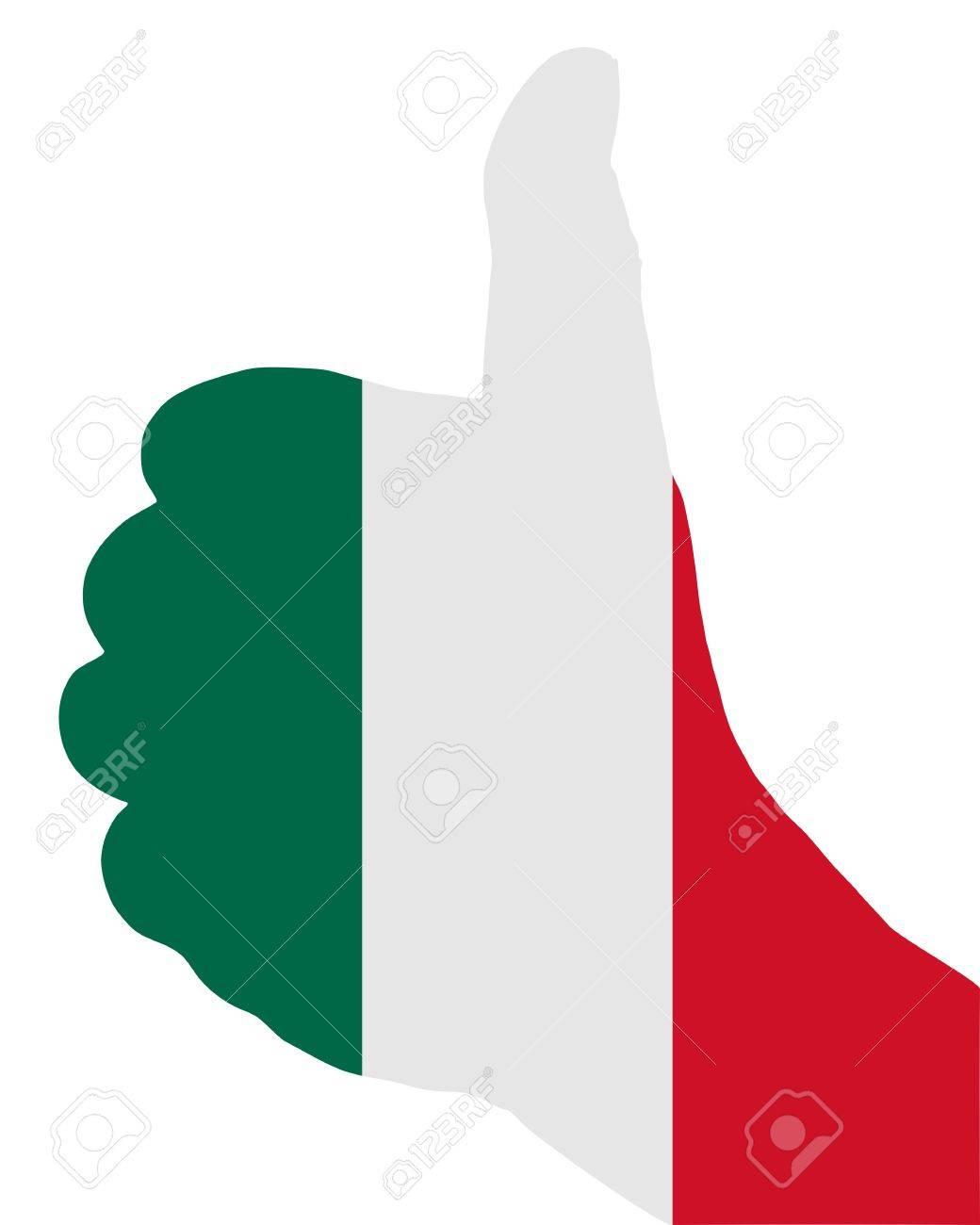 Mexican finger signal Stock Vector - 7822216