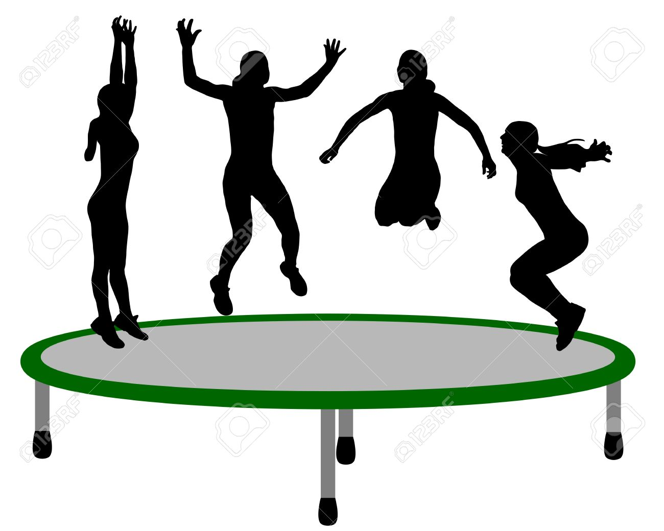 Woman trampoline - 10120783