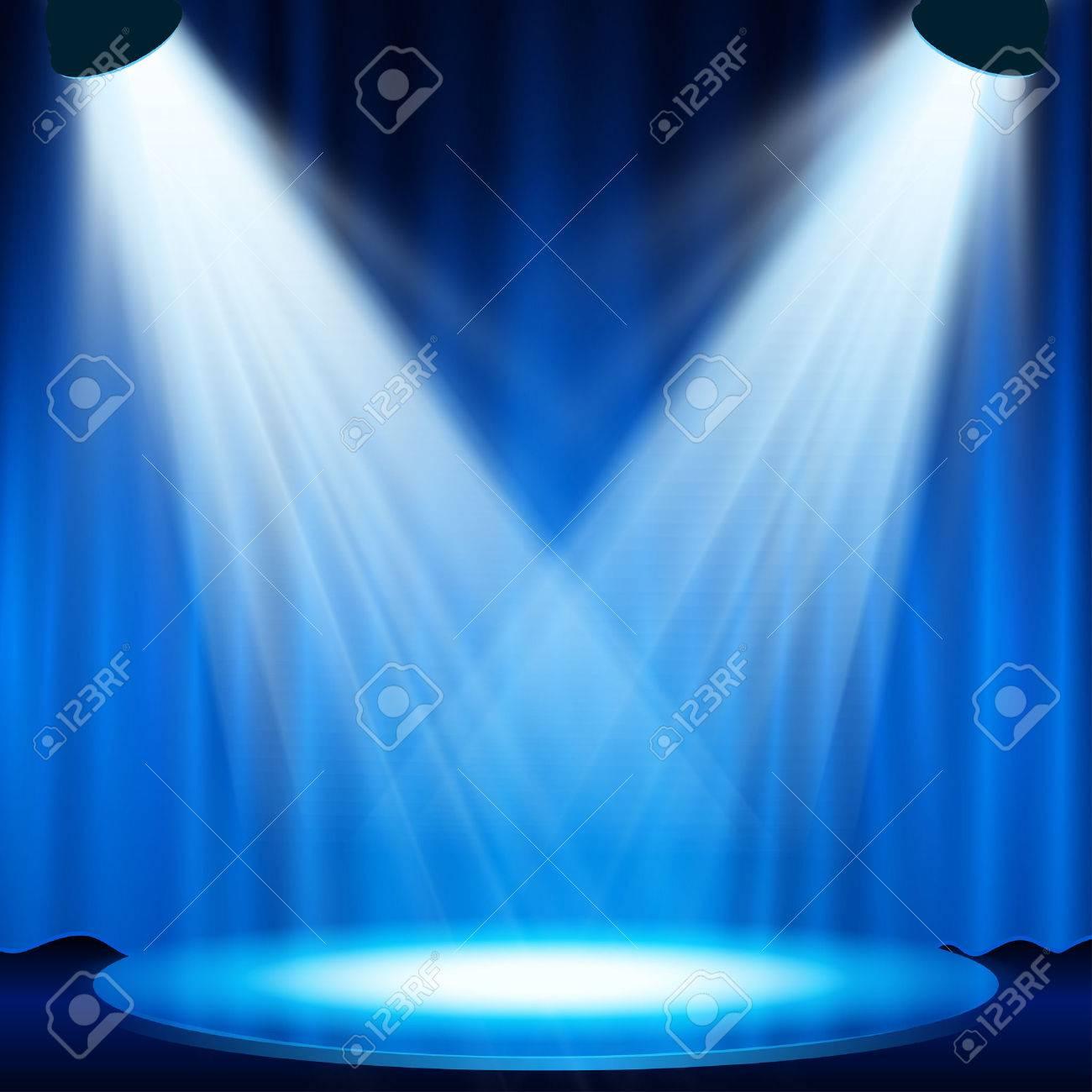 spotlight effect scene background - 29899872