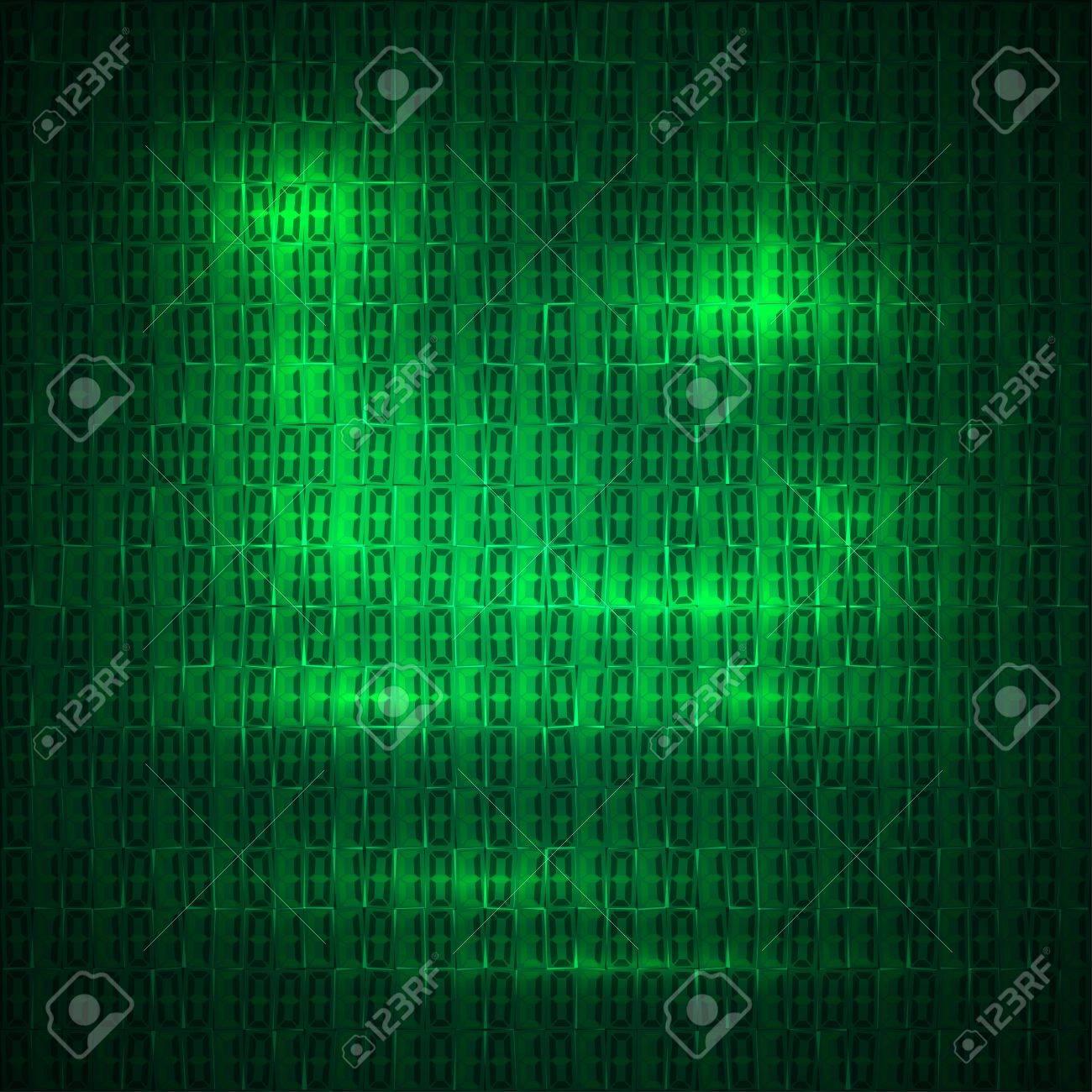 hexadecimal computer code vector background wallpaper Stock Vector - 32501249
