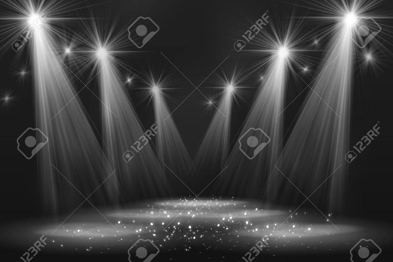 Spotlight vintage background - 39581581