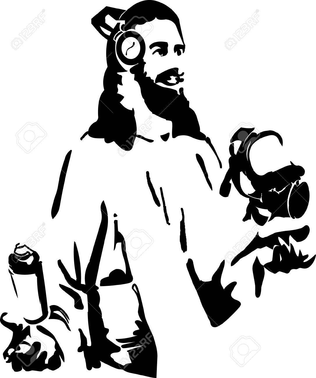 Jesus loves house Stock Vector - 18211771