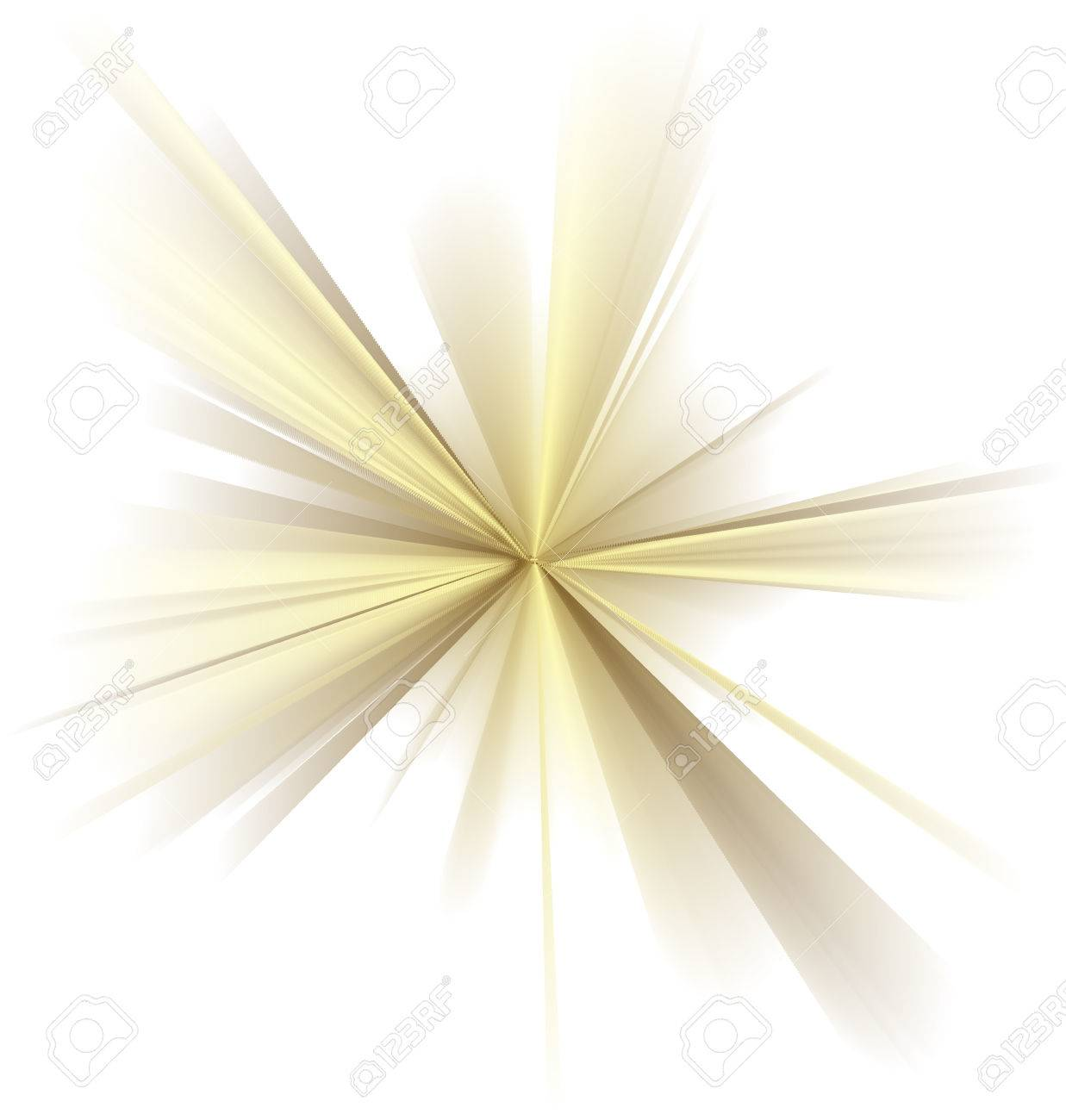 abstract vector golden rays on white background stock vector 24567602