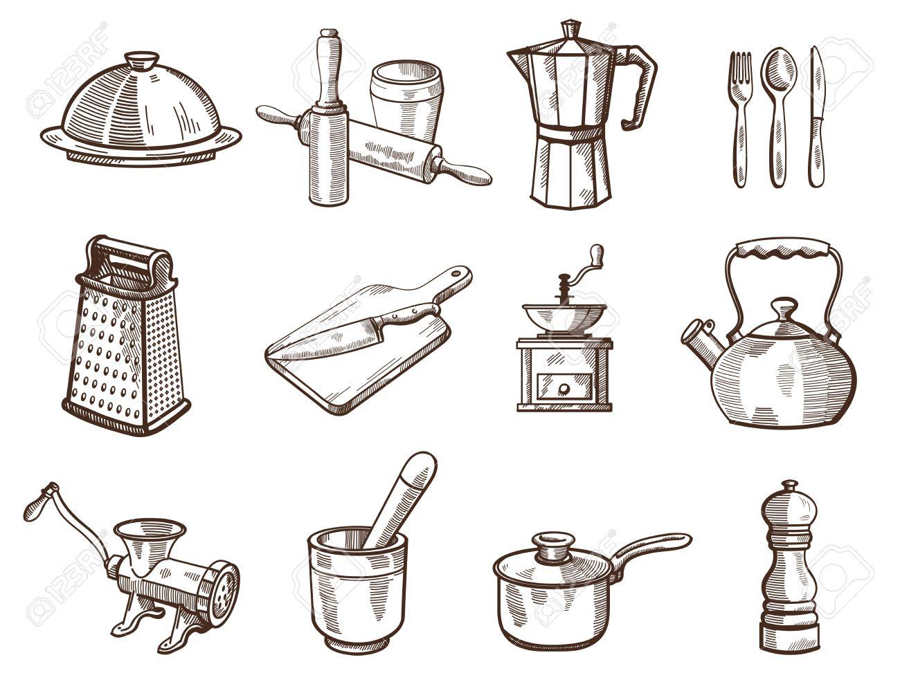Disegni Da Colorare Cucina. Disegni Da Colorare Cucina With Disegni ...