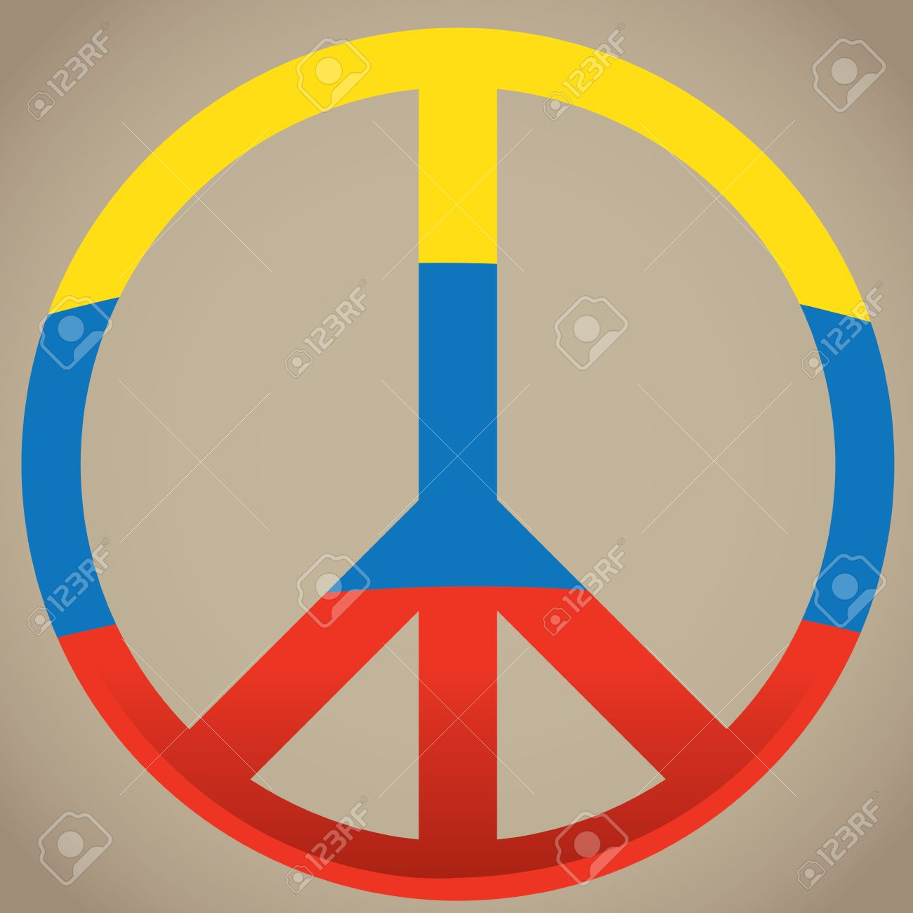 Isolated peace symbol colombian flag vector illustration royalty isolated peace symbol colombian flag vector illustration stock vector 60045580 biocorpaavc