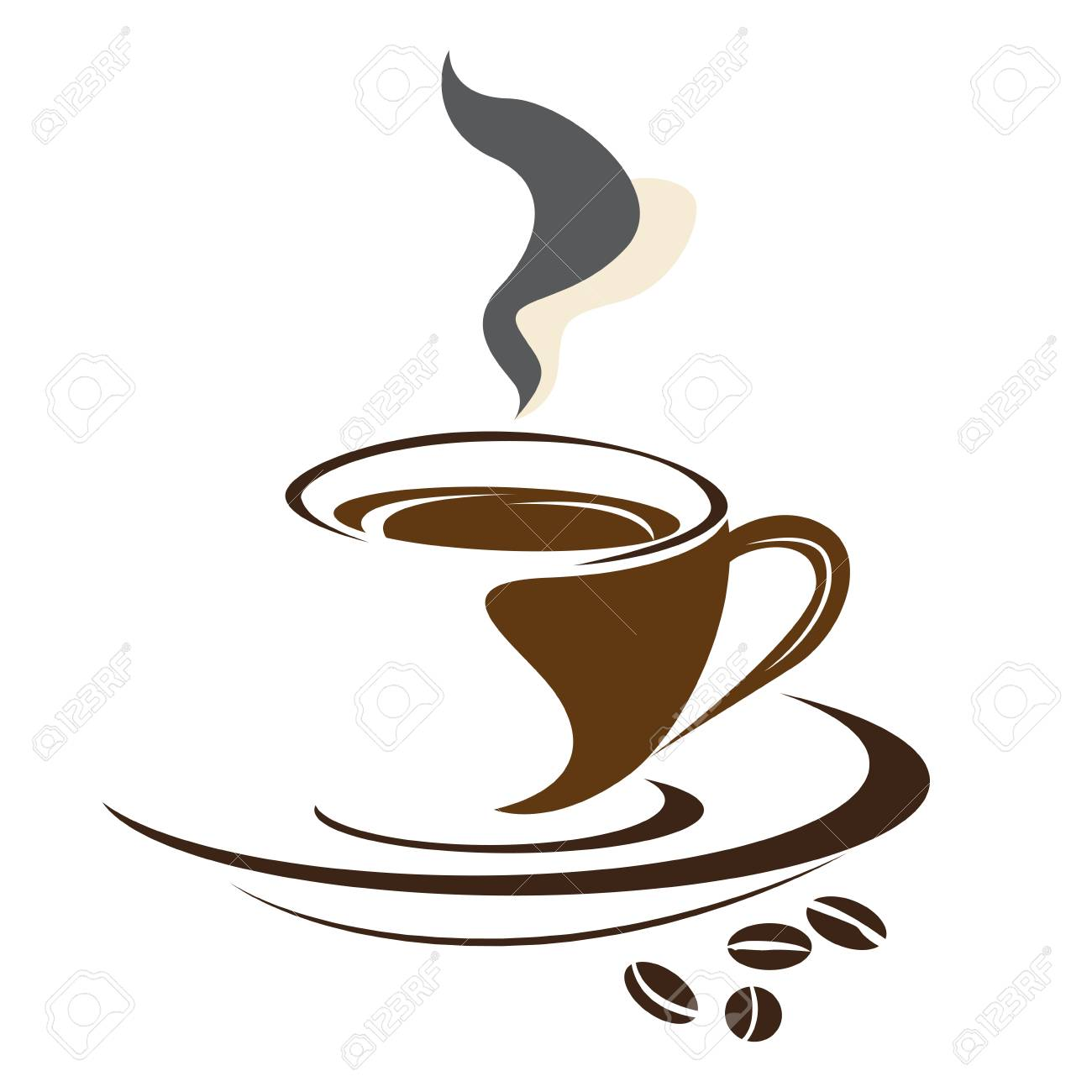 Isolated Abstract Coffee Mug Logo Vector Illustration Royalty Free Cliparts Vectors And Stock Illustration Image 79953616