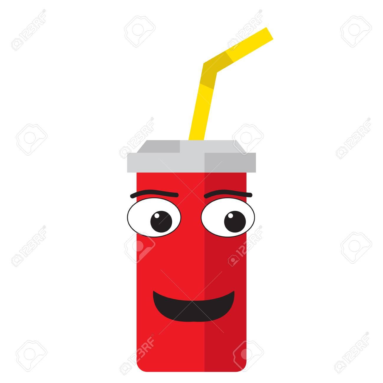 00c2717011b Isolated happy soda emote royalty free cliparts vectors and stock jpg  1300x1300 Happy soda