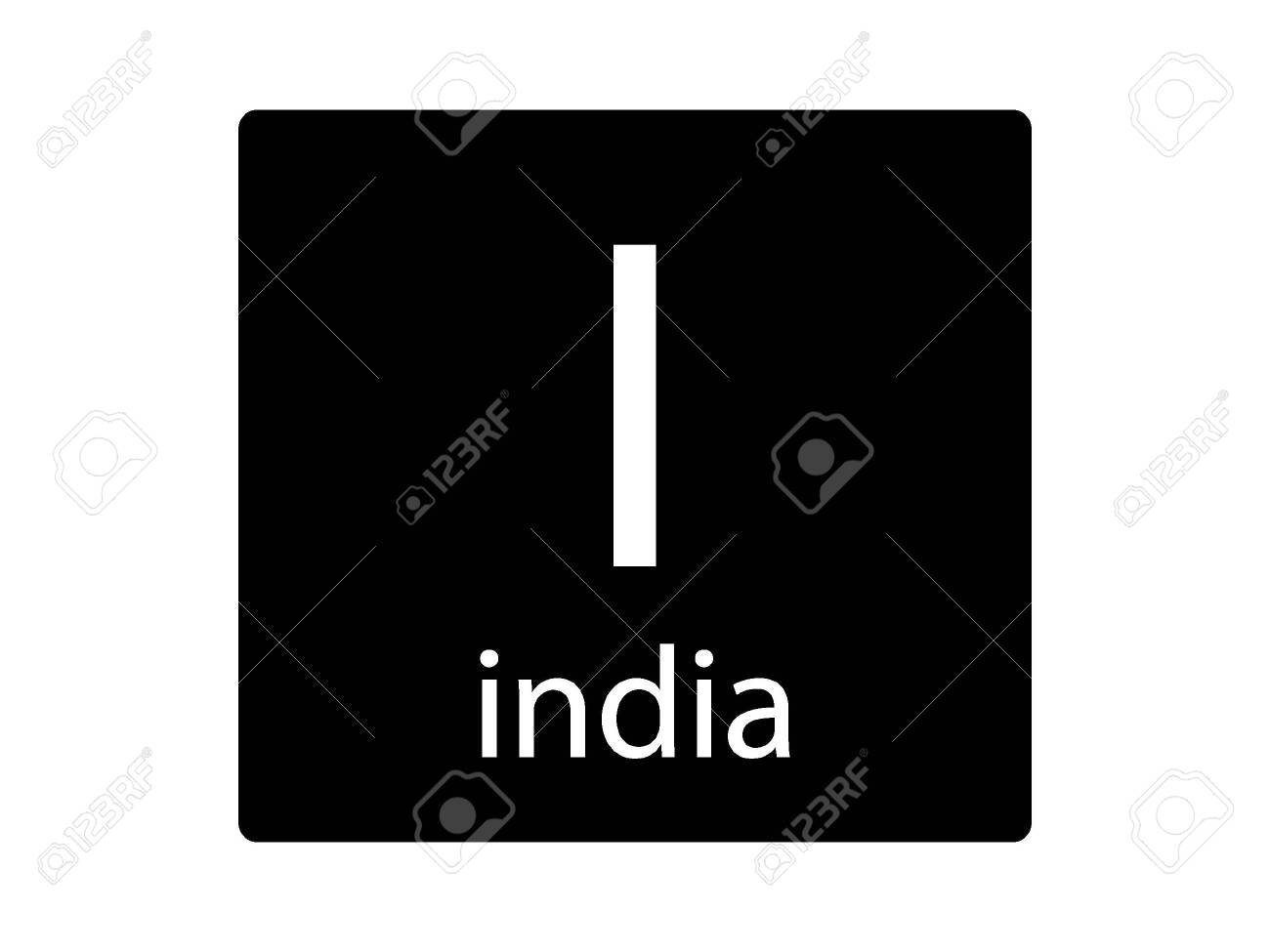 Army Phonetic Alphabet Letter India Royalty Free Cliparts Vectors And Stock Illustration Image 133345217