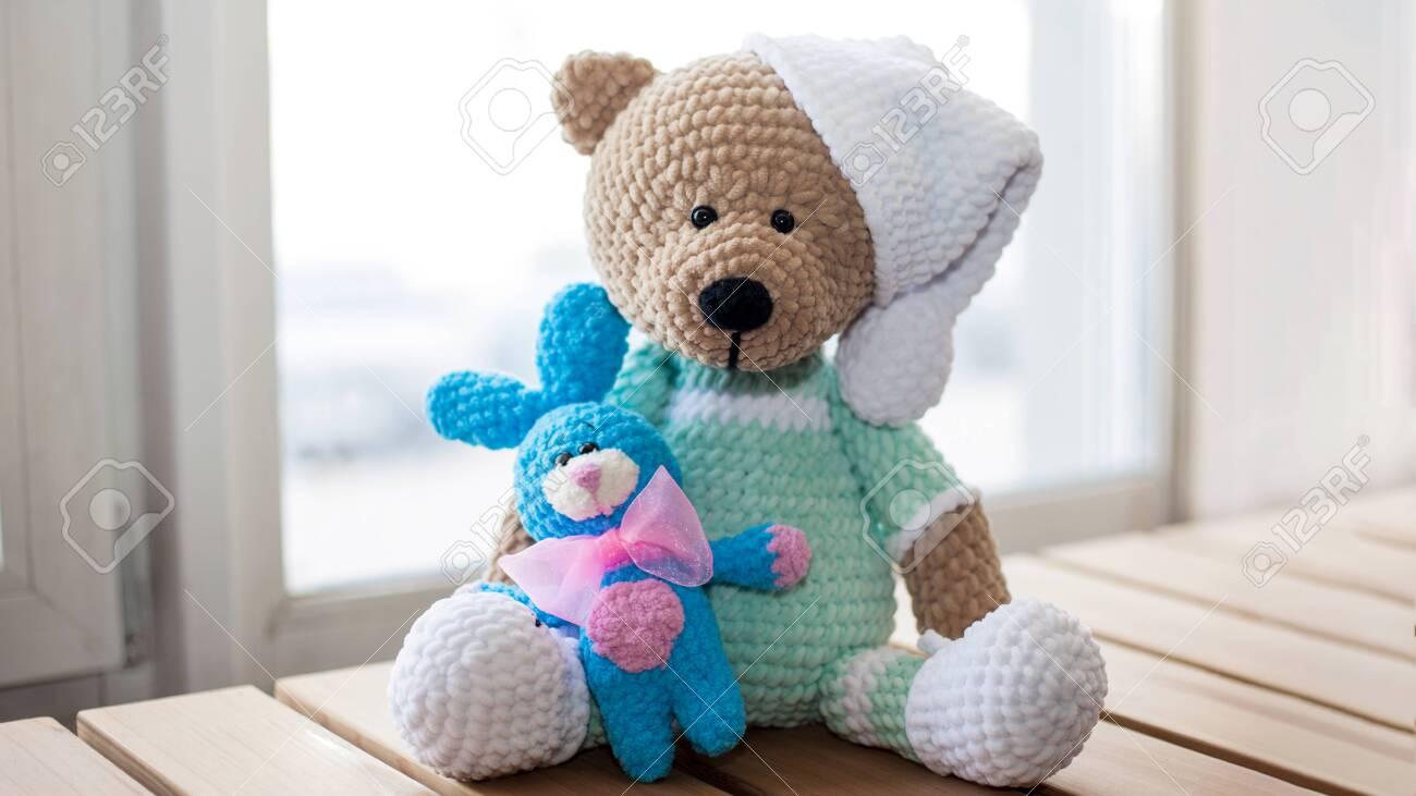 Amigurumi Teddy Bear Pattern: My Krissie... - Tiny Mini Design ... | 731x1300
