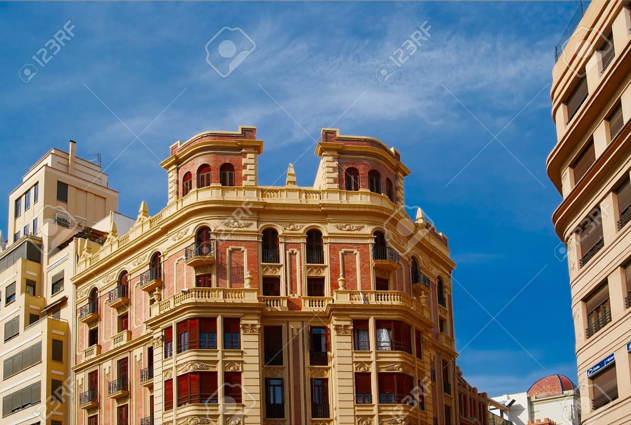 Historic  buildings with lace fronts Spain Stock Photo - 15902766