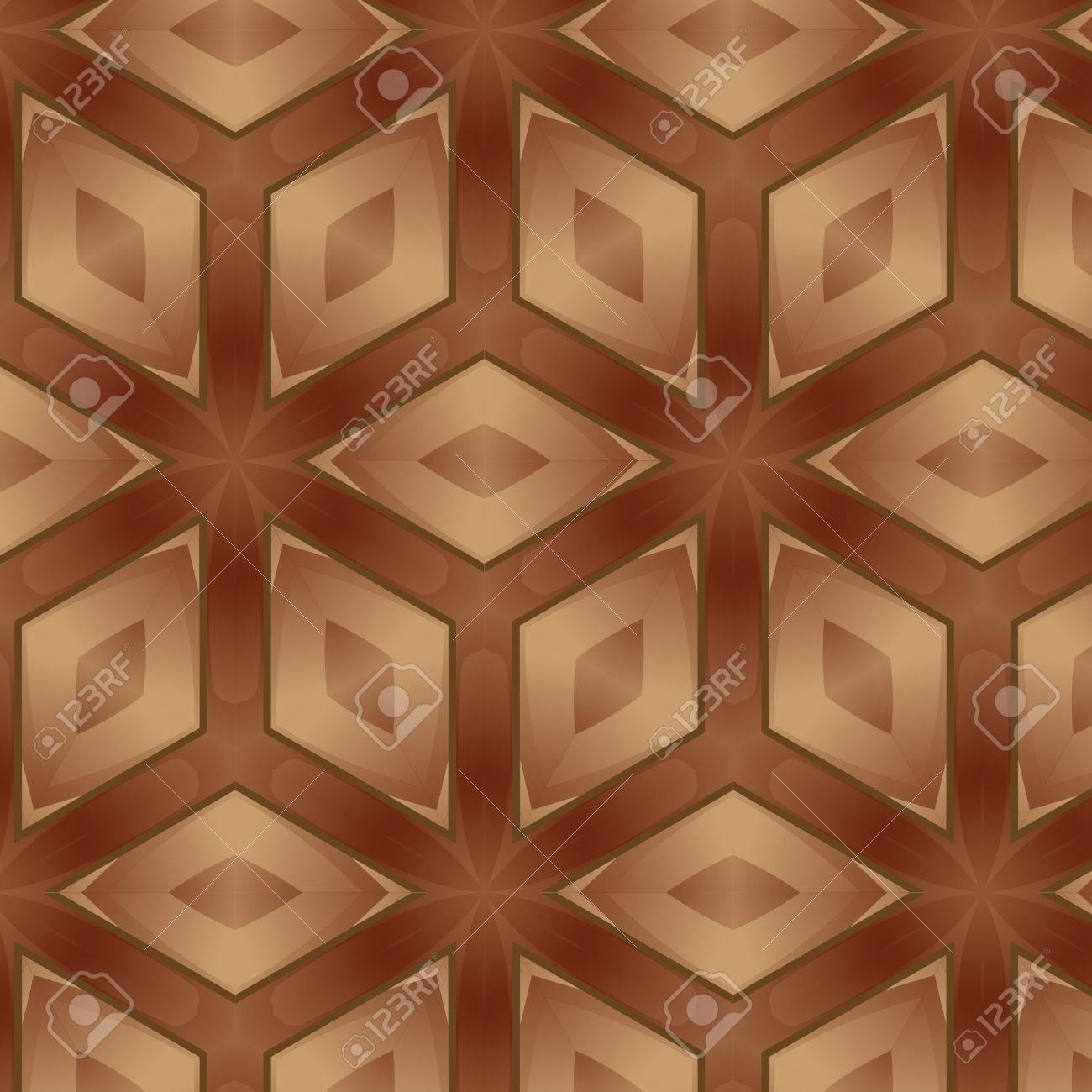 Mosaico Di Legno.Vari Legno Pavimenti In Piastrelle E Costituito Da Sfondo Di Mosaico