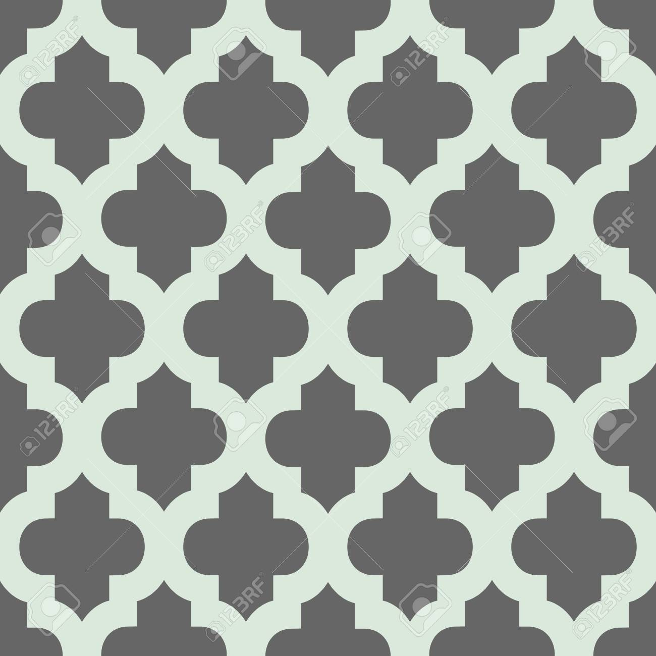 Seamless Geometrique Abstrait De Vecteur Textile Trendy Ou Papier