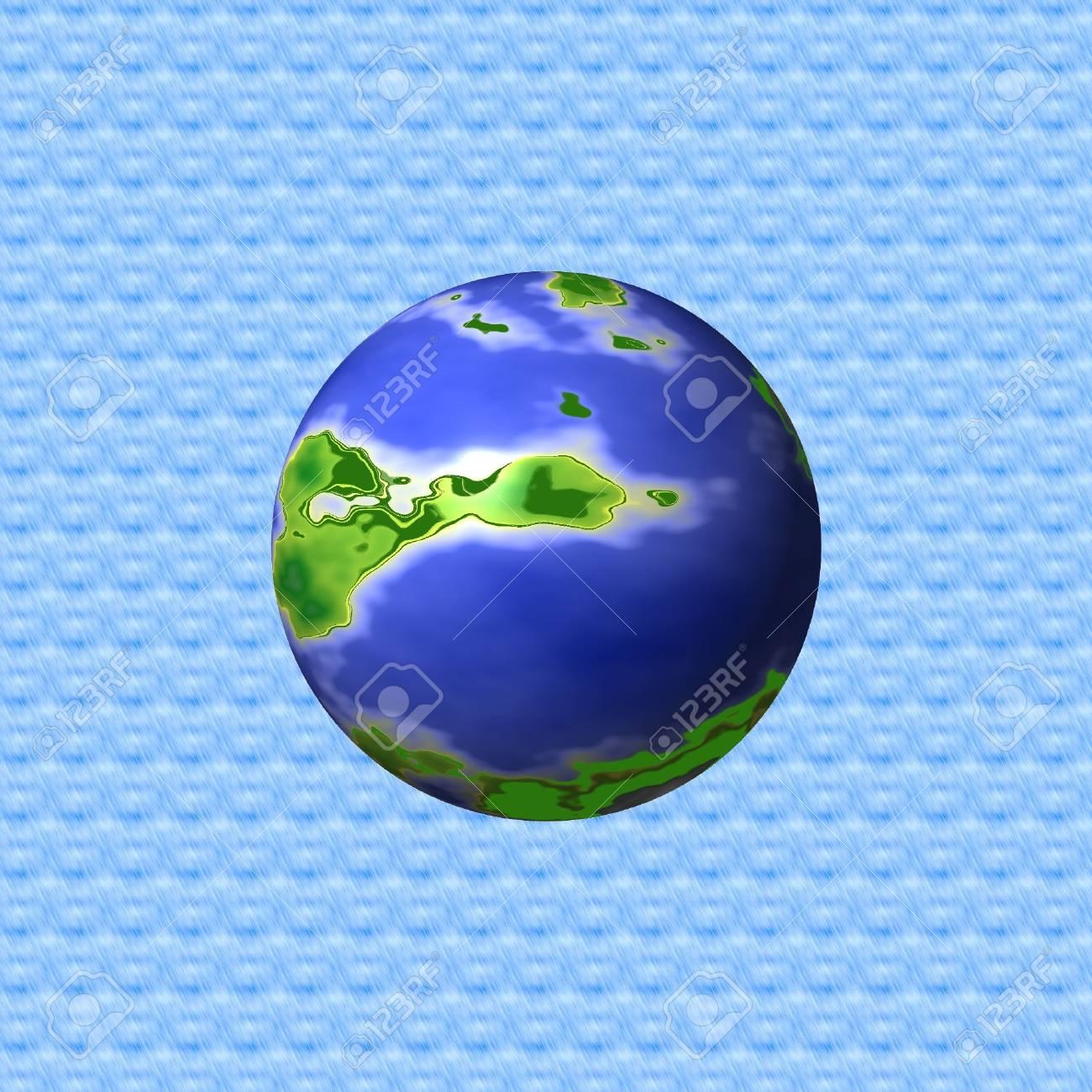 La Planète Terre Pour Arrière Plan Ou Un Dessin Abstrait