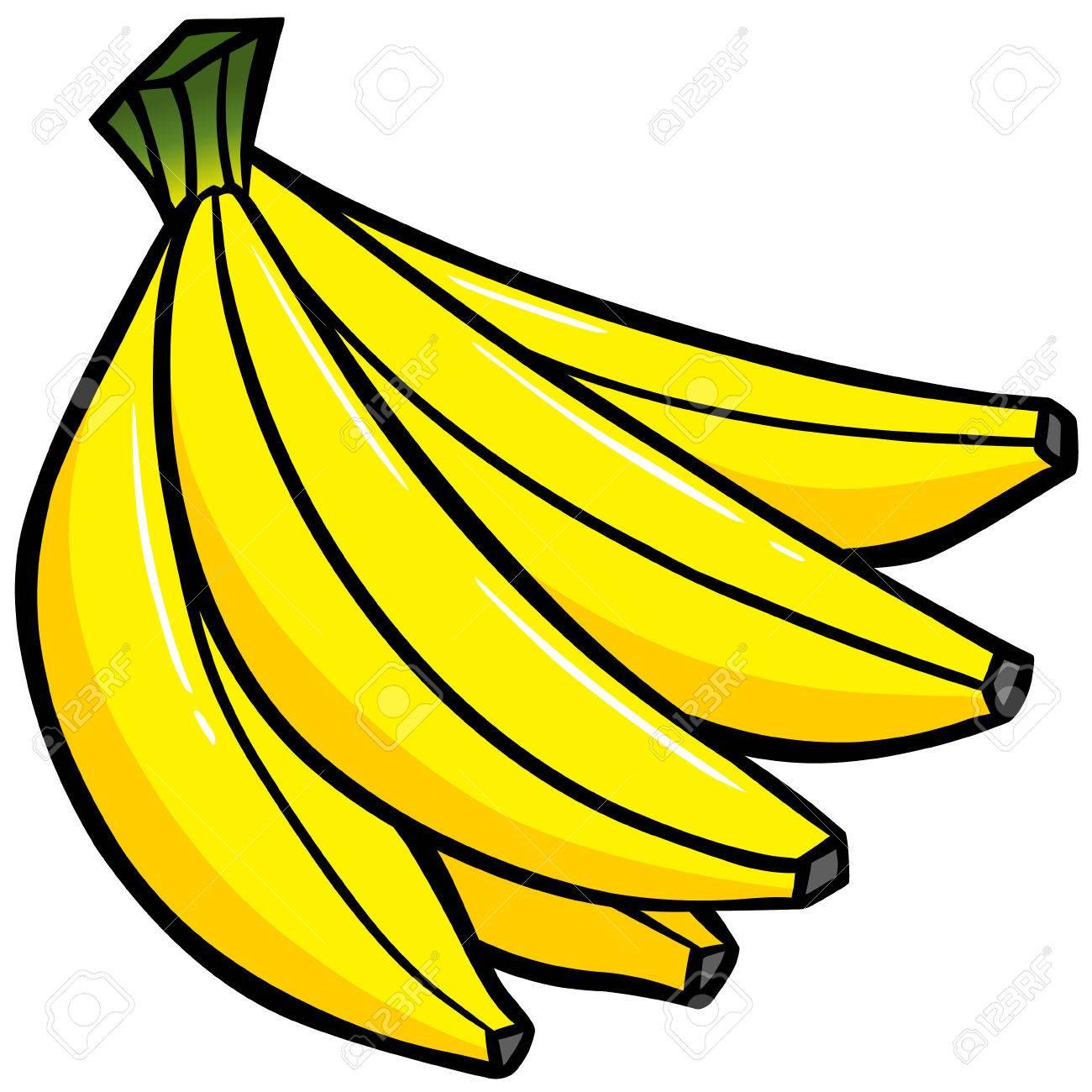 banana bunch royalty free cliparts vectors and stock illustration rh 123rf com banana clipart png banana clipart images