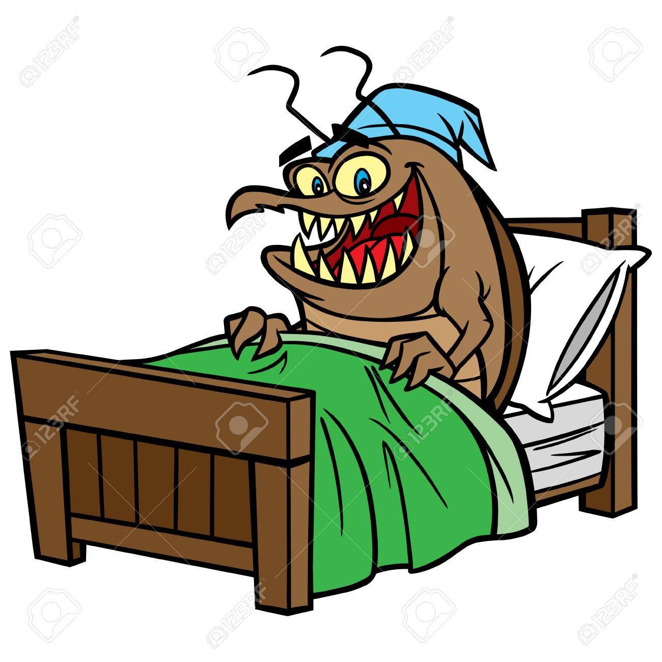 [Image: 57278621-bed-bug-in-bed.jpg]