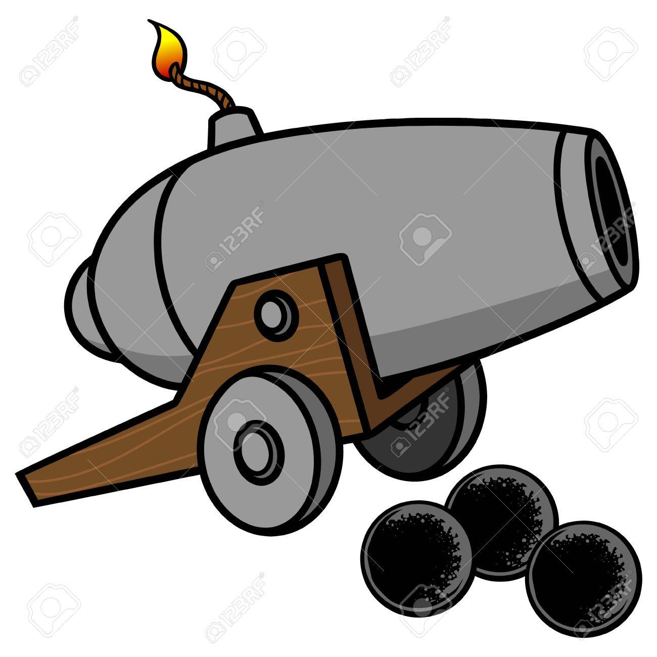 cannon royalty free cliparts vectors and stock illustration image rh 123rf com cannonball clipart clipart pirate cannon