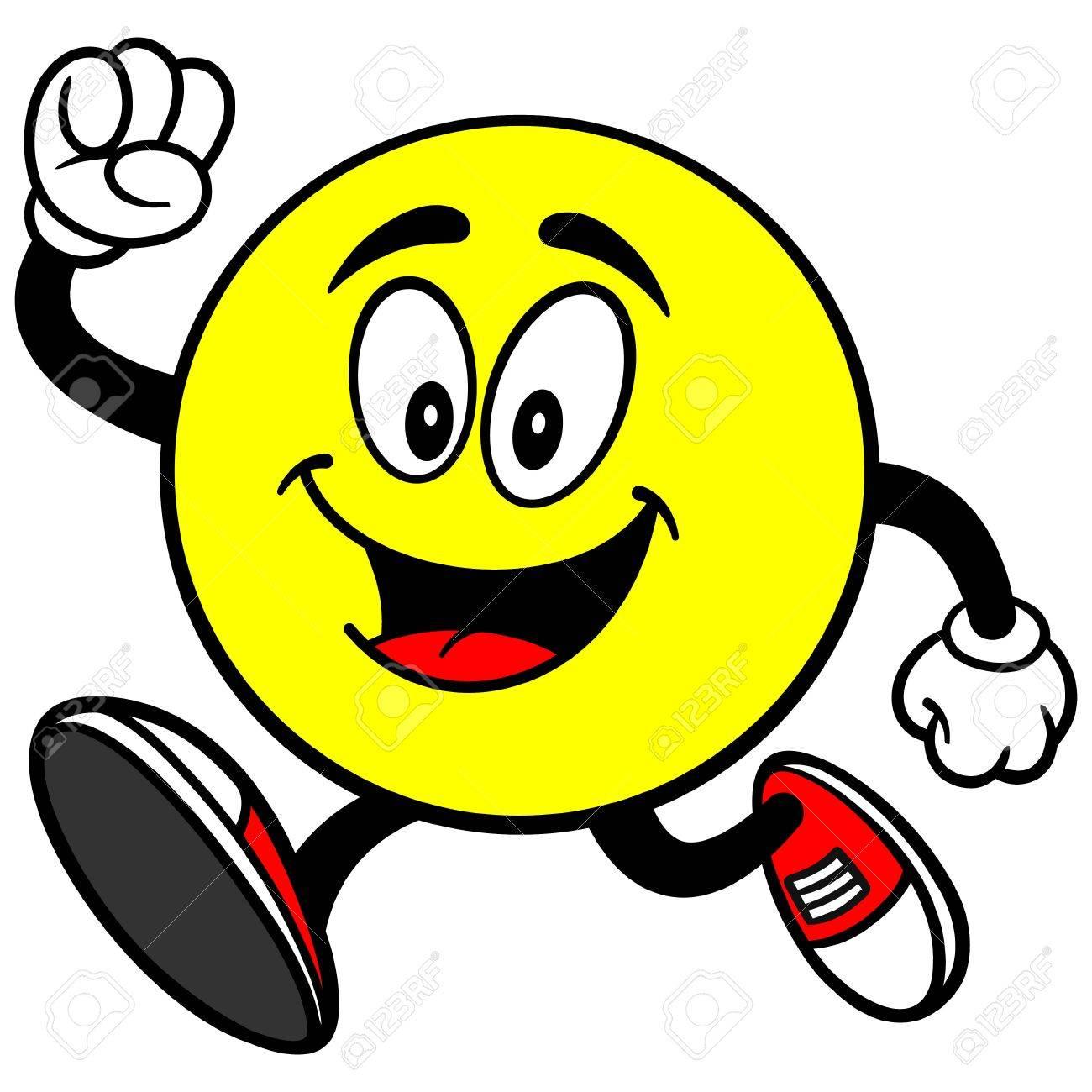 Emoticon Running - 57449619