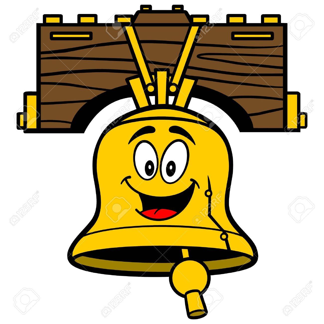 Liberty bell cartoon royalty free cliparts vectors and stock liberty bell cartoon biocorpaavc Images