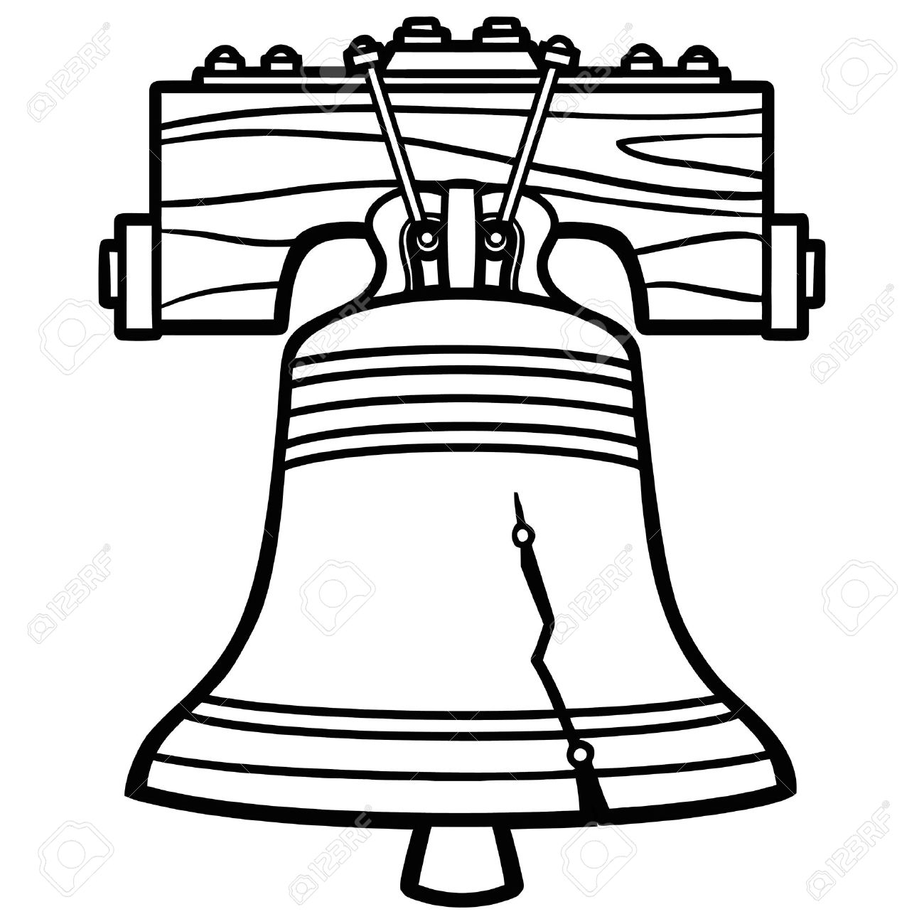 liberty bell illustration royalty free cliparts vectors and stock rh 123rf com liberty bell images clipart america liberty bell clip art