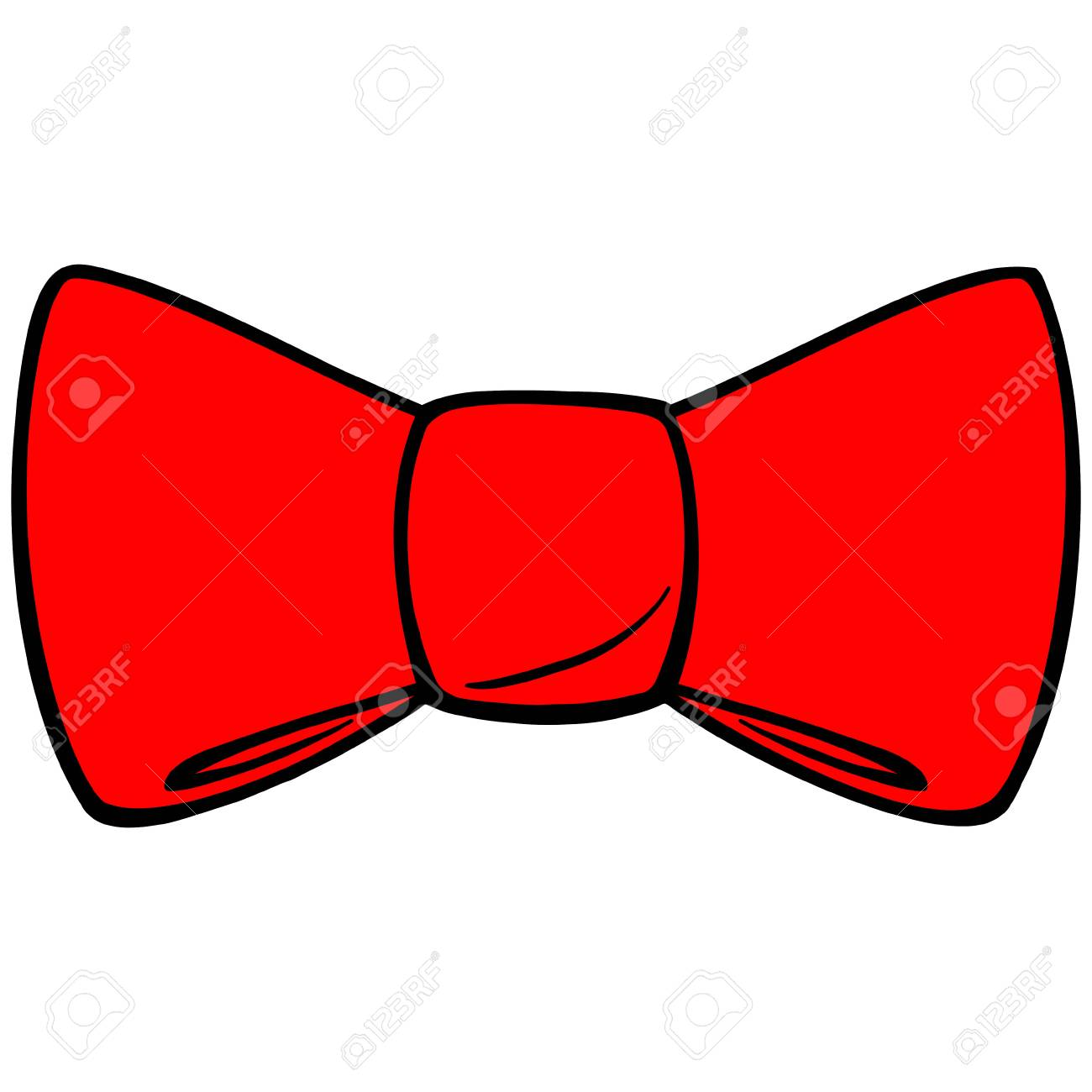2acd494b Red Bow Tie Royalty Free Cliparts, Vectors, And Stock Illustration ...