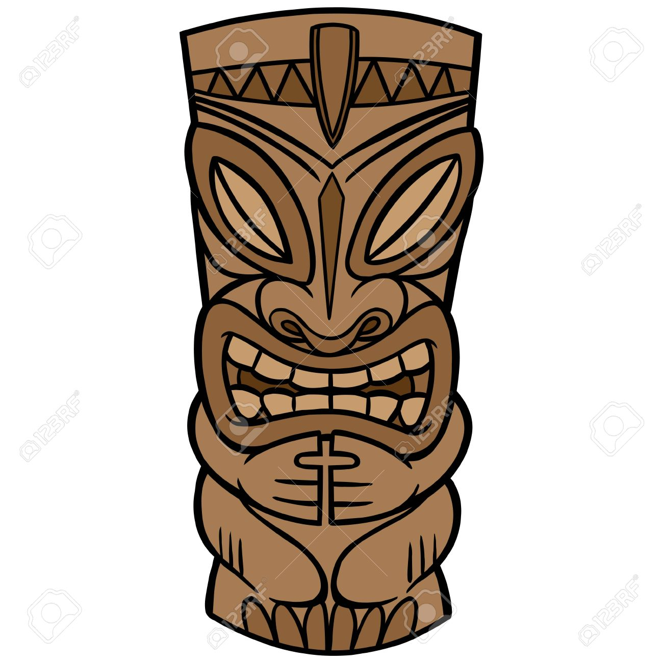 tiki royalty free cliparts vectors and stock illustration image rh 123rf com vector tiki mask tiki vector image