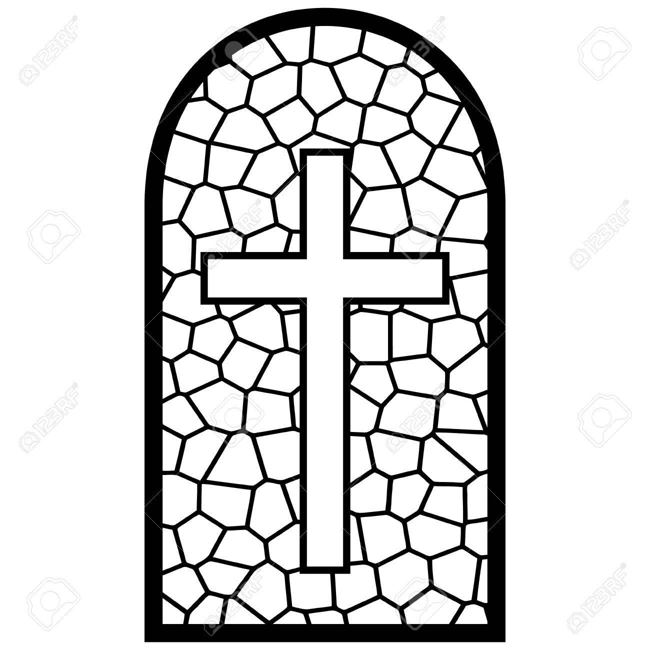 Stained glass window illustration royalty free cliparts vectors stained glass window illustration stock vector 61903895 thecheapjerseys Gallery