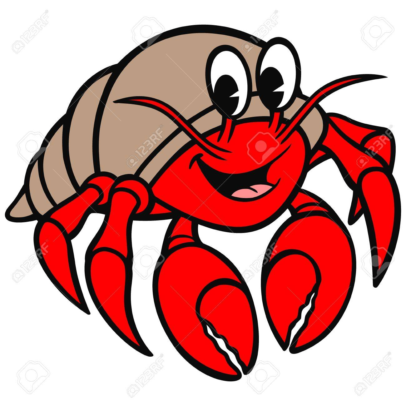 hermit crab royalty free cliparts vectors and stock illustration rh 123rf com hermit crab clipart free hermit crab clip art free