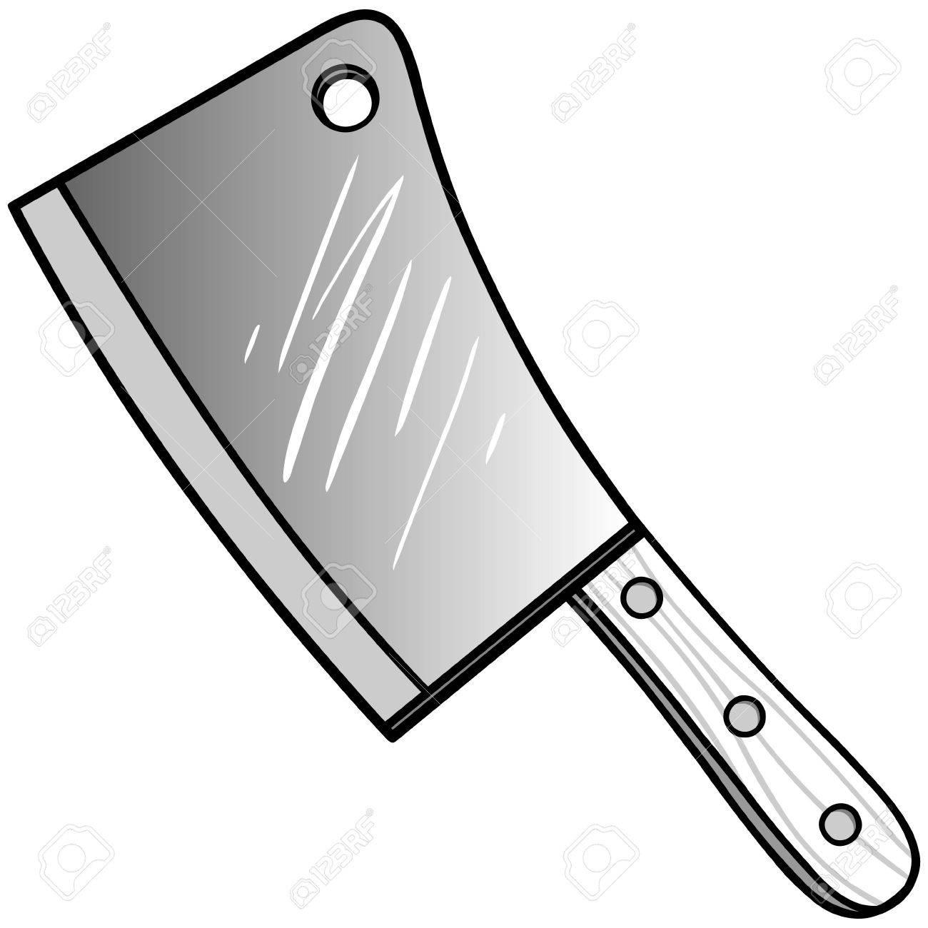 肉包丁イラストのイラスト素材ベクタ Image 71730170