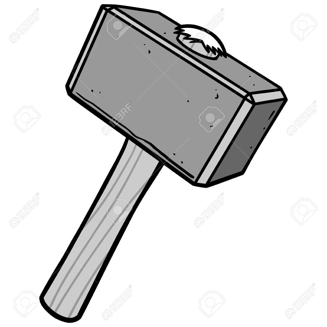 Sledgehammer Illustration Royalty Free Cliparts Vectors And Stock