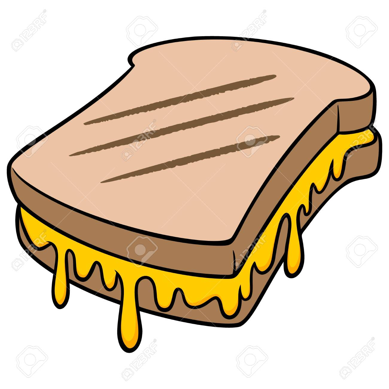 grilled cheese a cartoon illustration of a grilled cheese sandwich royalty free cliparts vectors and stock illustration image 139799899 grilled cheese a cartoon illustration of a grilled cheese sandwich